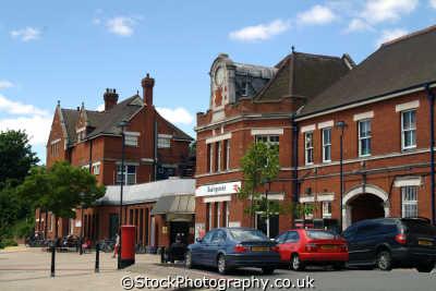 basingstoke station uk railway stations railways railroads transport transportation hampshire hamps england english angleterre inghilterra inglaterra united kingdom british