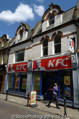 kentucky fried chicken junk food restaurant brands branding uk business commerce fast kfc united kingdom british