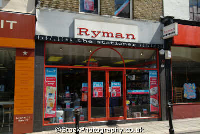 ryman stationers brands branding uk business commerce office supplies united kingdom british