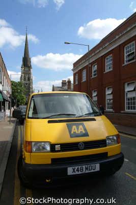 aa van automobile association rescue uk emergency services united kingdom british