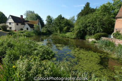 flatford painted constable countryside rural environmental uk famous painting river stour suffolk england english angleterre inghilterra inglaterra united kingdom british