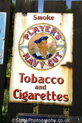 tobacco advertising victorian era players navy cut advertise uk media communications cigarettes shropshire england english angleterre inghilterra inglaterra united kingdom british