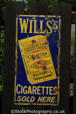 tobacco advertising victorian era wills cigarettes advertise uk media communications shropshire england english angleterre inghilterra inglaterra united kingdom british