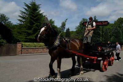 drayman shire horse transport transportation uk shropshire england english angleterre inghilterra inglaterra united kingdom british