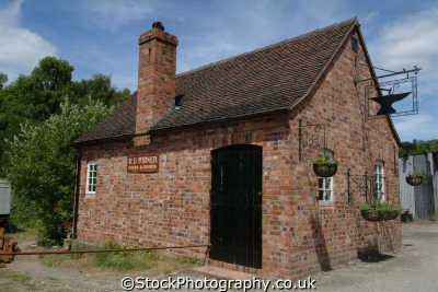 blacksmith shop uk industrial buildings british architecture architectural forge shropshire england english angleterre inghilterra inglaterra united kingdom
