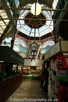 halifax borough market hall uk markets traders commercial buildings retailers british architecture architectural yorkshire england english angleterre inghilterra inglaterra united kingdom