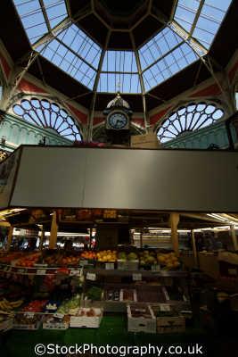 halifax borough market hall uk markets traders commercial buildings retailers british architecture architectural yorkshire england english angleterre inghilterra inglaterra united kingdom