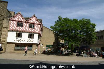 halifax town centre market street north east england northeast english uk yorkshire angleterre inghilterra inglaterra united kingdom british