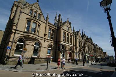 halifax post office commercial street north east england northeast english uk yorkshire angleterre inghilterra inglaterra united kingdom british