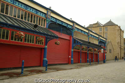 huddersfield market hall uk markets traders commercial buildings retailers british architecture architectural yorkshire england english angleterre inghilterra inglaterra united kingdom