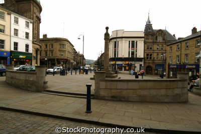 huddersfield town centre north east england northeast english uk yorkshire angleterre inghilterra inglaterra united kingdom british