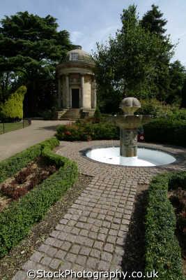 royal leamington spa ornamental gardens midlands england english uk staffordshire staffs angleterre inghilterra inglaterra united kingdom british