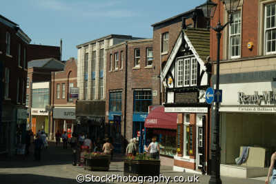 macclesfield town centre north west northwest england english uk cheshire angleterre inghilterra inglaterra united kingdom british