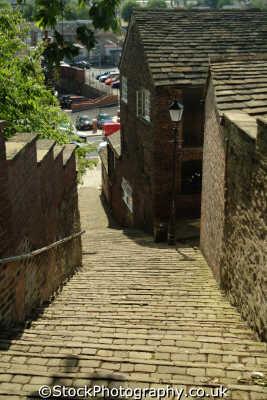 macclesfield 108 steps north west northwest england english uk steep hill cheshire angleterre inghilterra inglaterra united kingdom british