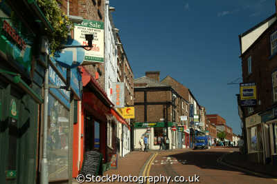 macclesfield town centre north west northwest england english uk cheshire angleterre inghilterra inglaterra united kingdom british