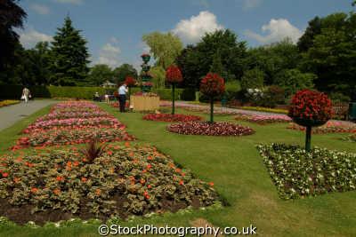 oswestry park gardens midlands england english uk ornamental shropshire angleterre inghilterra inglaterra united kingdom british