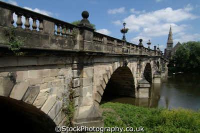 shrewsbury english bridge river severn uk rivers waterways countryside rural environmental shropshire england angleterre inghilterra inglaterra united kingdom british