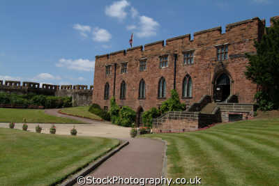 shrewsbury castle shropshire regiment museum british castles architecture architectural buildings uk england english angleterre inghilterra inglaterra united kingdom