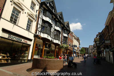 shrewsbury town centre midlands england english uk shropshire angleterre inghilterra inglaterra united kingdom british