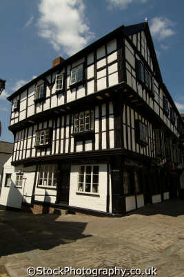 shrewsbury half timbered building butcher row buildings historical uk history british architecture architectural shropshire england english angleterre inghilterra inglaterra united kingdom