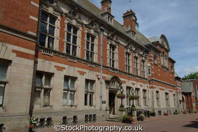 stafford staffordshire county council offices uk town halls government buildings british architecture architectural staffs england english angleterre inghilterra inglaterra united kingdom