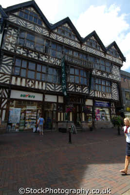 stafford ancient high house greengate street half timbered buildings historical uk history british architecture architectural timber staffordshire staffs england english angleterre inghilterra inglaterra united kingdom