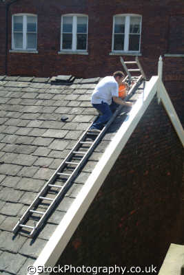 roofer labour working people persons roofing repairs united kingdom british