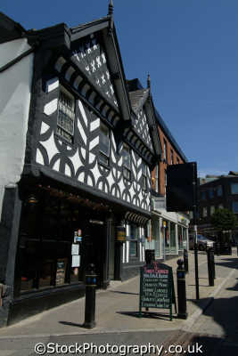 stockport timber framed building. underbank hall nat west bank half timbered buildings historical uk history british architecture architectural manchester england english angleterre inghilterra inglaterra united kingdom