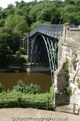 telford iron bridge built abraham darby river severn uk rivers waterways countryside rural environmental world heritage site ironbridge 1779 engineering shropshire england english angleterre inghilterra inglaterra united kingdom british