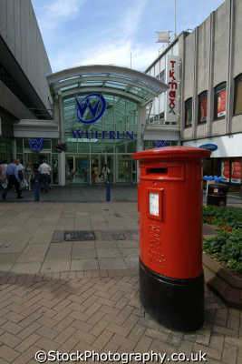 wolverhampton wulfrun shopping centre uk centres retailers trade centers commercial buildings british architecture architectural staffordshire staffs england english angleterre inghilterra inglaterra united kingdom