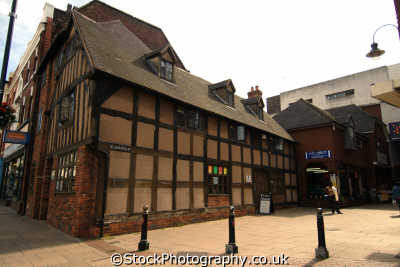 wolverhampton old timber frame buiding st john rd half timbered buildings historical uk history british architecture architectural staffordshire staffs england english angleterre inghilterra inglaterra united kingdom