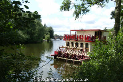 worcester paddle steamer pleasure boat river severn uk rivers waterways countryside rural environmental worcestershire england english angleterre inghilterra inglaterra united kingdom british