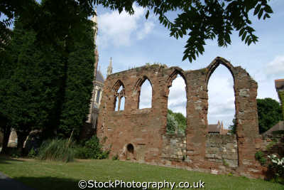 worcester cathedral ruins uk cathedrals worship religion christian british architecture architectural buildings worcestershire england english angleterre inghilterra inglaterra united kingdom
