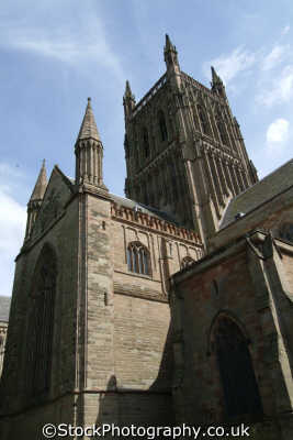 worcester cathedral uk cathedrals worship religion christian british architecture architectural buildings worcestershire england english angleterre inghilterra inglaterra united kingdom