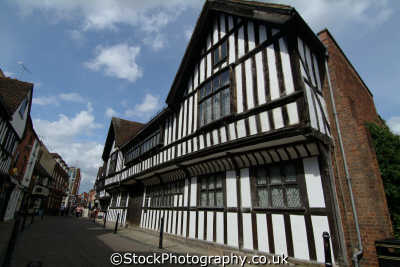 worcester greyfriars 1480 timber framed national trust property half timbered buildings historical uk history british architecture architectural worcestershire england english angleterre inghilterra inglaterra united kingdom