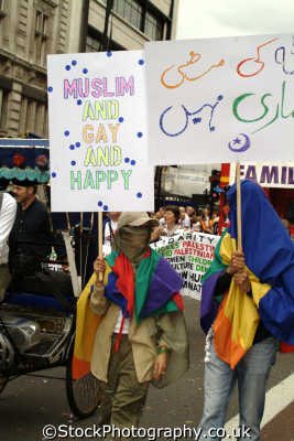 gay muslims pride homosexual queers poofs london events capital england english uk westminster cockney angleterre inghilterra inglaterra united kingdom british
