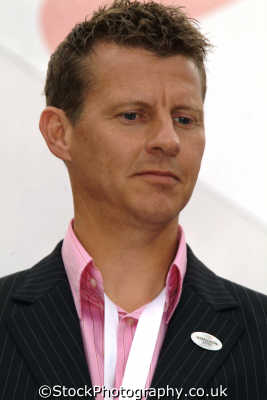 steve cram world champion runner 1983 olympic silver medallist tv presenter british athletes athletics sport sporting celebrities celebrity fame famous star people persons aaa westminster london cockney england english angleterre inghilterra inglaterra united kingdom