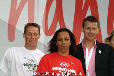 british olympic athletes danny crates kelly holmes steve cram athletics sport sporting celebrities celebrity fame famous star people persons westminster london cockney england english angleterre inghilterra inglaterra united kingdom
