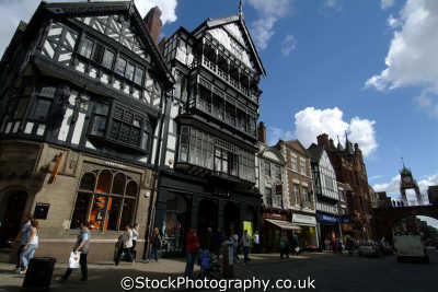 chester foregate street north west northwest england english uk cestrian cheshire angleterre inghilterra inglaterra united kingdom british