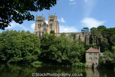 durham cathedral river wear uk cathedrals worship religion christian british architecture architectural buildings england english angleterre inghilterra inglaterra united kingdom