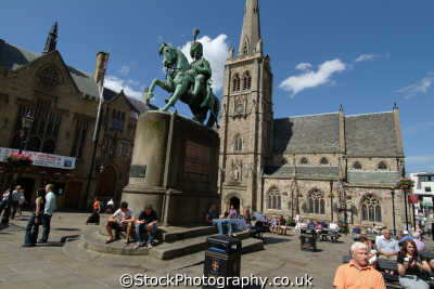 durham market place north east england northeast english uk angleterre inghilterra inglaterra united kingdom british