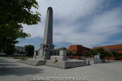 hartlepool war memorial town square teeside north east england northeast english uk durham angleterre inghilterra inglaterra united kingdom british