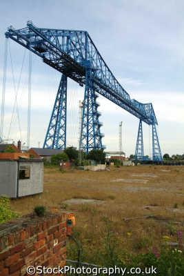 middlesbrough transporter bridge teeside north east england northeast english uk yorkshire angleterre inghilterra inglaterra united kingdom british