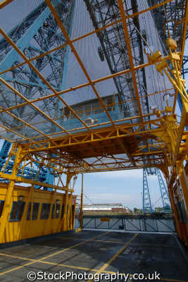 middlesbrough transporter bridge teeside north east england northeast english uk yorkshire angleterre inghilterra inglaterra united kingdom british