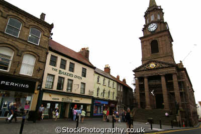 berwick-upon-tweed berwick upon tweed berwickupontweed marygate town hall uk halls government buildings british architecture architectural guild northumberland northumbrian england english angleterre inghilterra inglaterra united kingdom