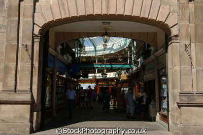 rotherham old town hall shopping arcade uk centres retailers trade centers commercial buildings british architecture architectural yorkshire england english angleterre inghilterra inglaterra united kingdom