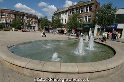 rotherham fountain saints square north east england northeast english uk yorkshire angleterre inghilterra inglaterra united kingdom british