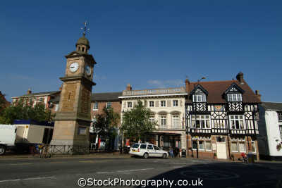 rugby market place midlands england english uk warwickshire great britain united kingdom british