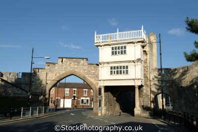 york gatehouse city walls historical uk buildings history british architecture architectural yorkshire england english great britain united kingdom