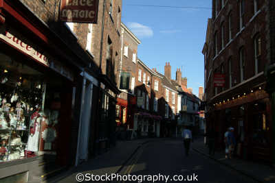 york low petergate north east england northeast english uk yorkshire great britain united kingdom british